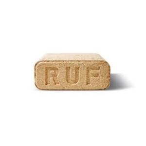 Ekobrikety hranaté RUF z tvrdého dřeva